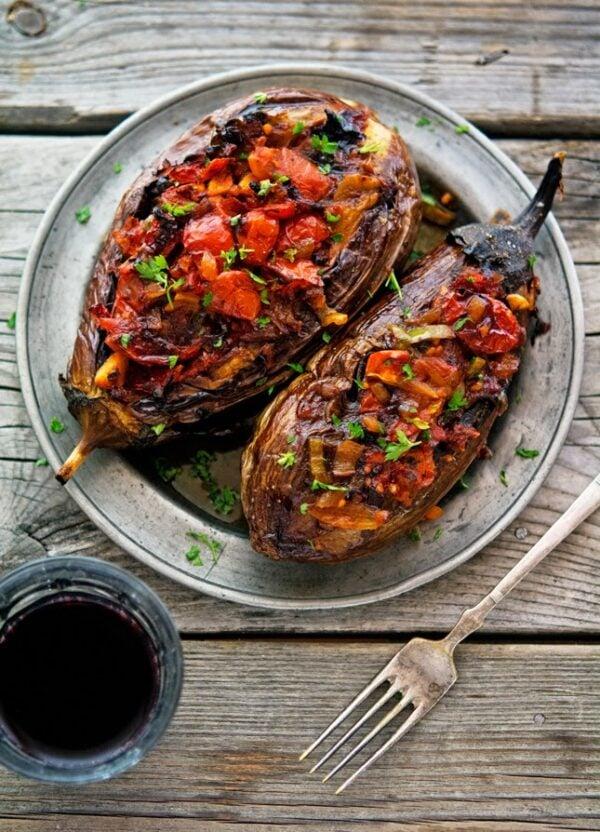 35 BEST Eggplant Recipes - imam bayildi