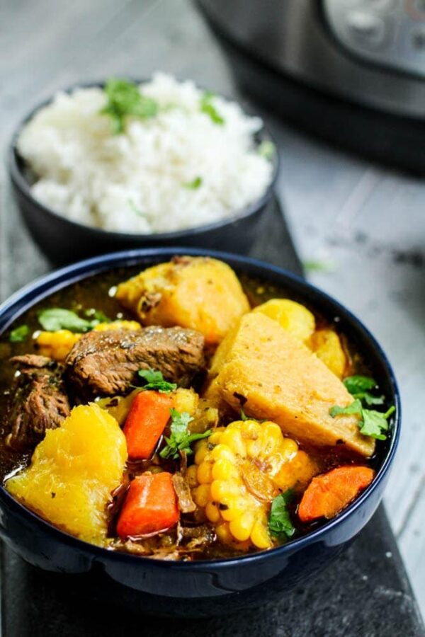 40 BEST Caribbean Recipes - sancocho.