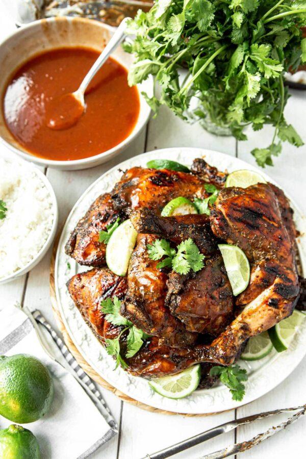 40 BEST Caribbean Recipes - jerk chicken.