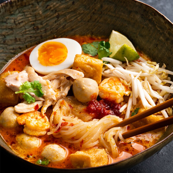 The 5 BEST Asian Recipes - laksa.