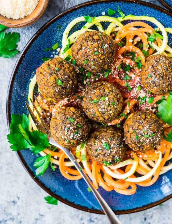 35 BEST Lentil Recipes - meatballs.
