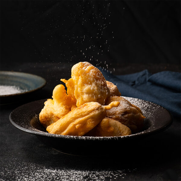The 5 BEST Asian Recipes - banana fritters.