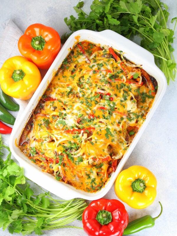 45 BEST Casserole Recipes - Mexican chicken casserole.