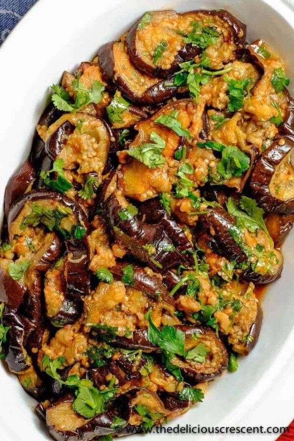 35 BEST Eggplant Recipes - Moroccan eggplant salad.