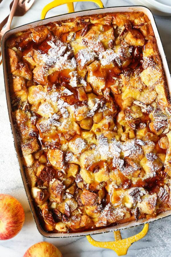 45 BEST Casserole Recipes - French toast bake.