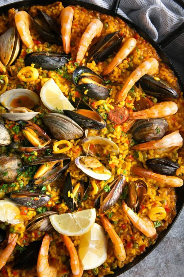 The 35+ BEST Sausage Recipes - Paella.