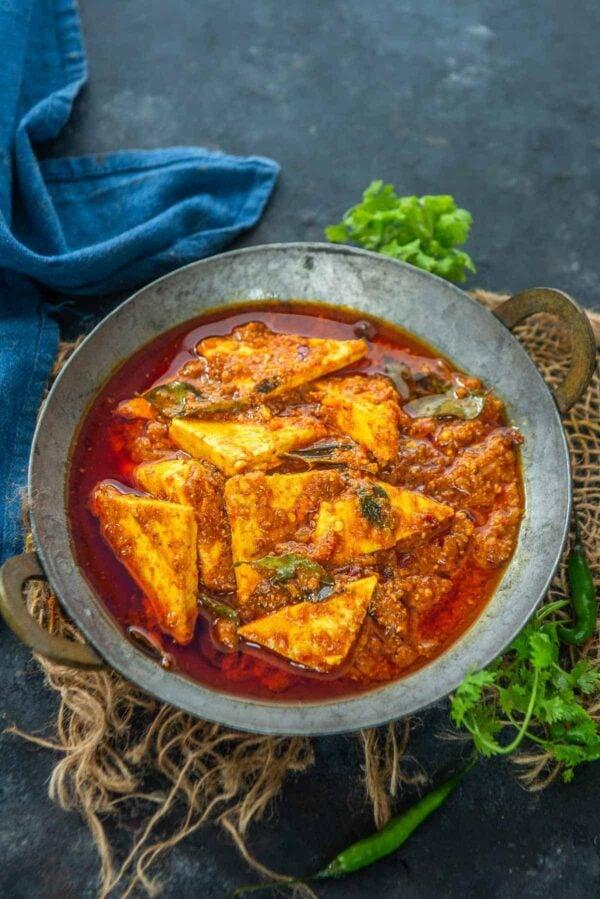 BEST Paneer Recipes - ghee roast.