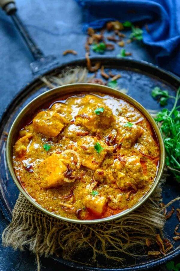 BEST Paneer Recipes - korma.
