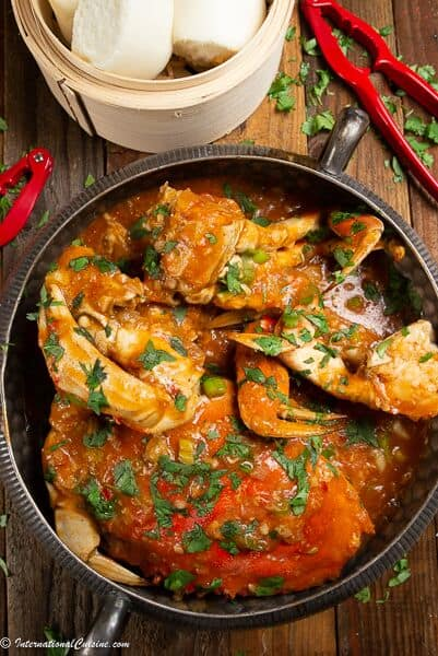 The 5 BEST Asian Recipes - chili crab.
