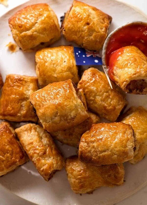 The 35+ BEST Sausage Recipes - Sausage rolls.