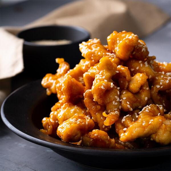The 5 BEST Asian Recipes - sesame chicken.