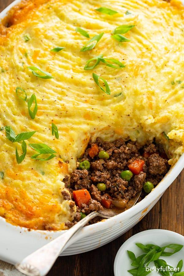 The 45 BEST Potato Recipes - shepherd's pie.