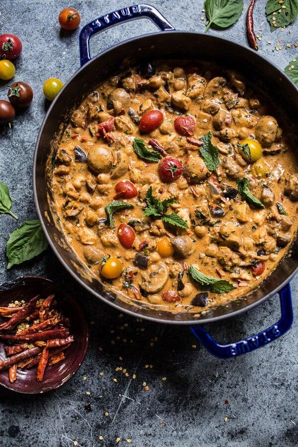 35 BEST Eggplant Recipes - eggplant curry.