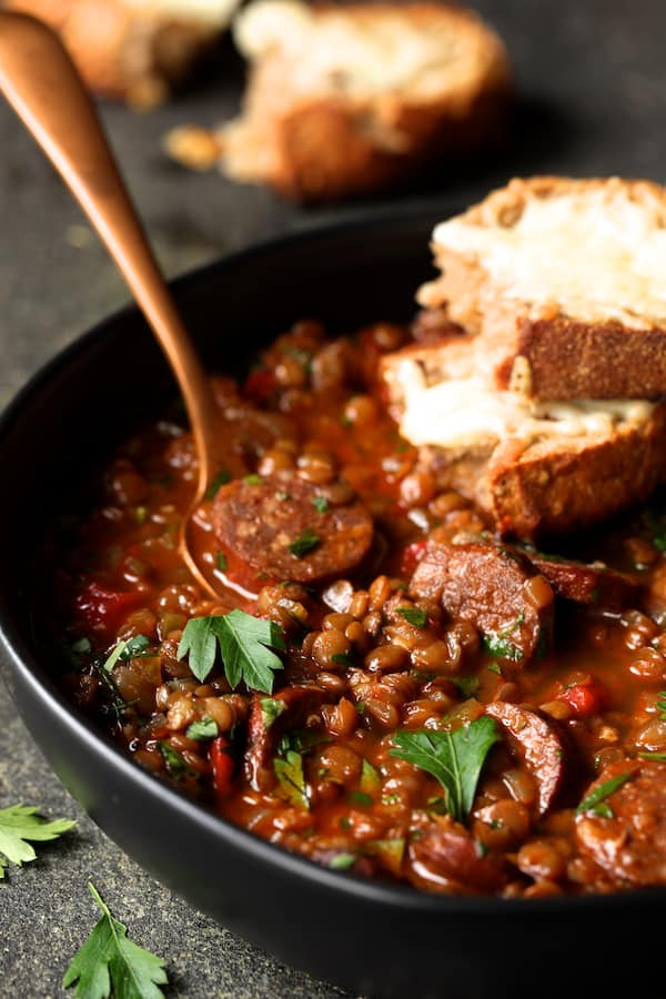 35 BEST Lentil Recipes - Spanish lentils.