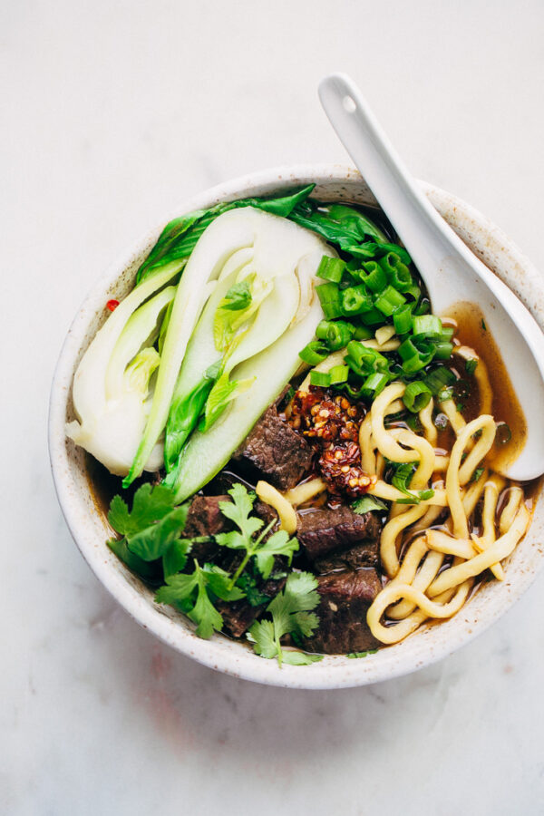 The 5 BEST Asian Recipes - Taiwanese beef noodle soup.