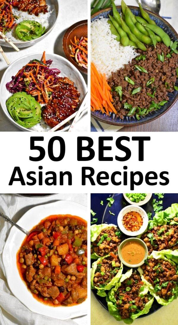 50 BEST Asian Recipes.