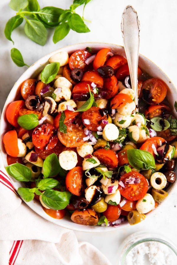 The 25 BEST Cherry Tomato Recipes - Cherry tomato salad.