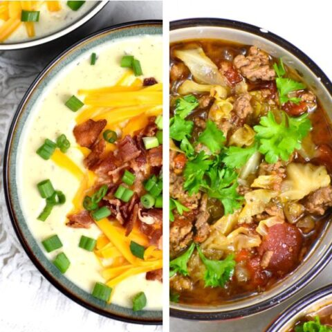Featured image for crockpot soup recipes post.