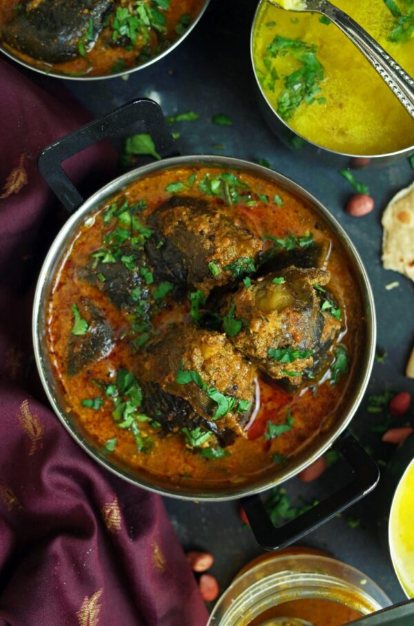 35 BEST Eggplant Recipes - bharli vangi.