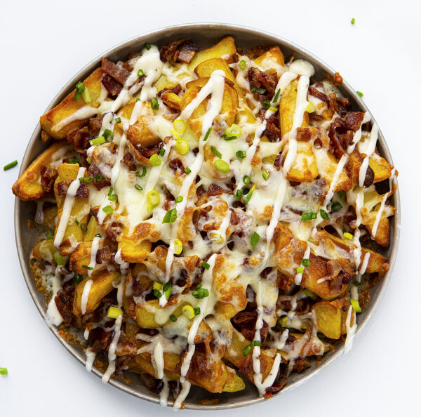The 45 BEST Potato Recipes - cheese fries.