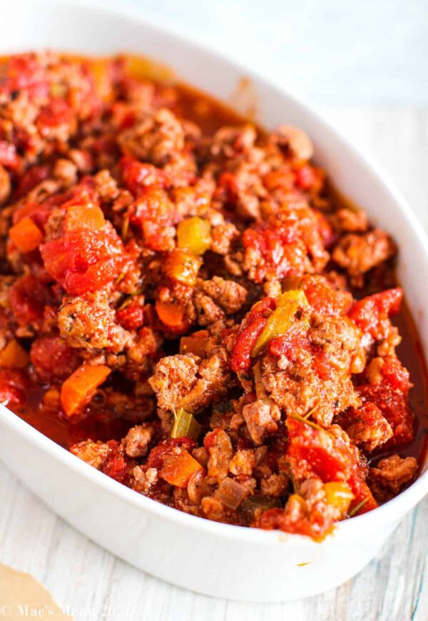 The 30+ BEST Ground Chicken Recipes - Bolognese.