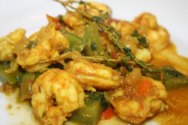 The 40 BEST Curry Recipes - Curry shrimp.