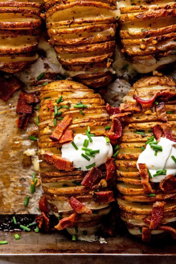 The 45 BEST Potato Recipes - hasselback potatoes.