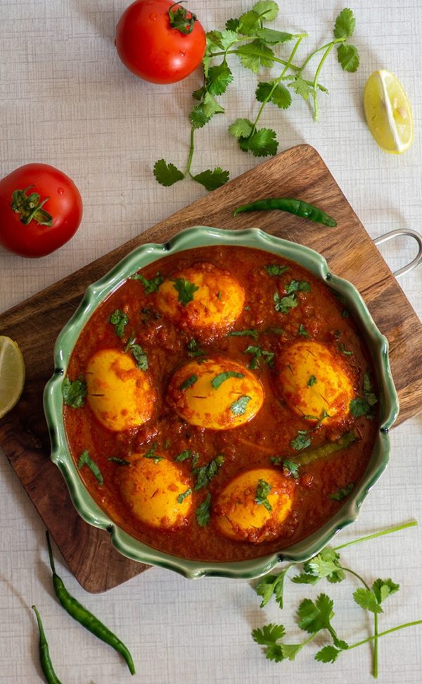 The 40 BEST Curry Recipes - Egg Curry.