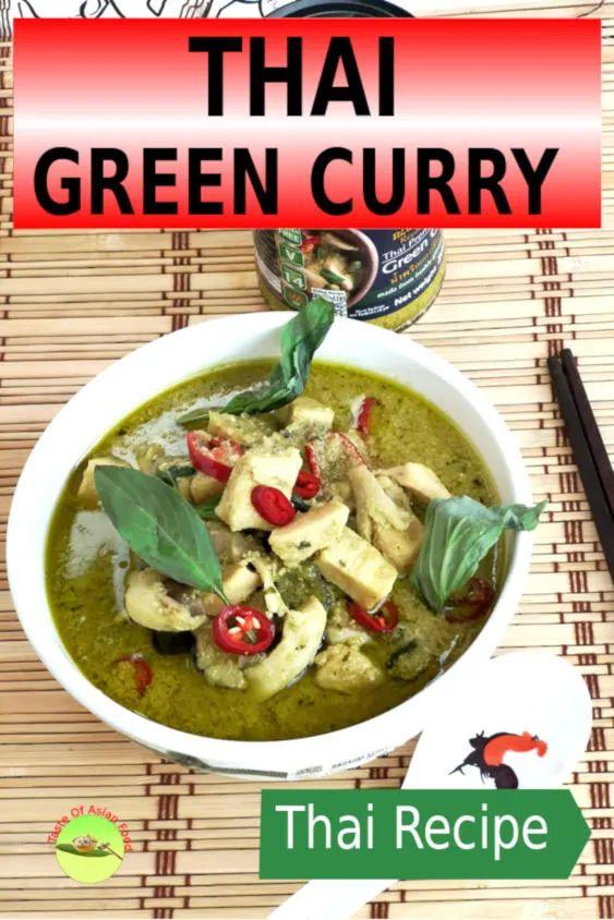 35 BEST Eggplant Recipes - Thai green curry.