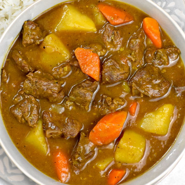Japanese Beef Curry (or any meat of your choice)