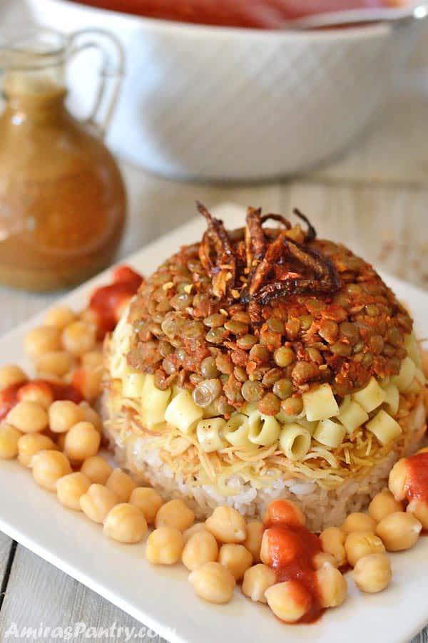 35 BEST Lentil Recipes - koshari.