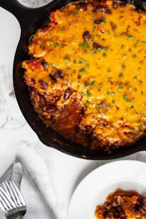 35 BEST Lentil Recipes - lentil casserole.