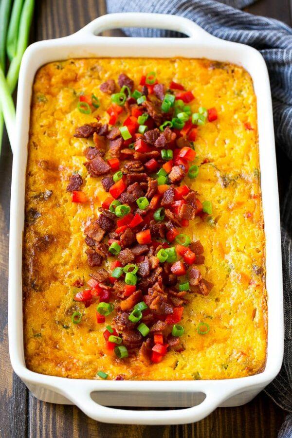45 BEST Casserole Recipes - corn casserole.