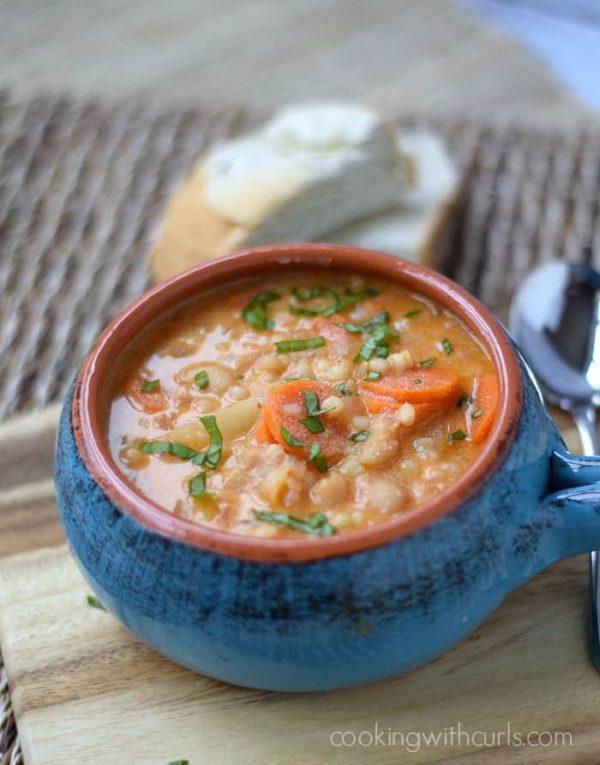 The 40 plus best Mediterranean recipes - Maltese soup.