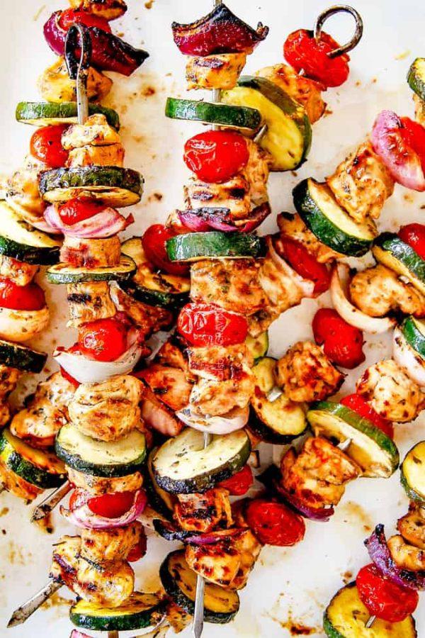 The 40 plus best Mediterranean recipes - Souvlaki.