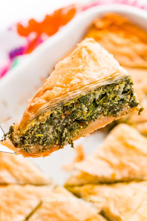 The 40 plus best Mediterranean recipes - Spanikopita.