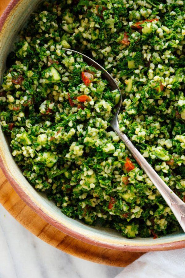 The 40 plus best Mediterranean recipes - Tabouleh.