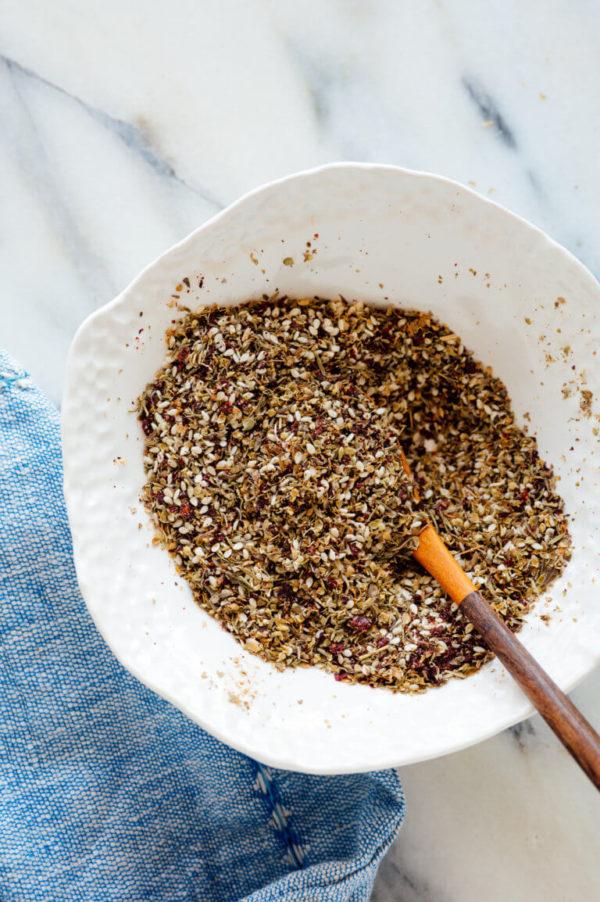 The 40 plus best Mediterranean recipes - Zaatar spice blend.
