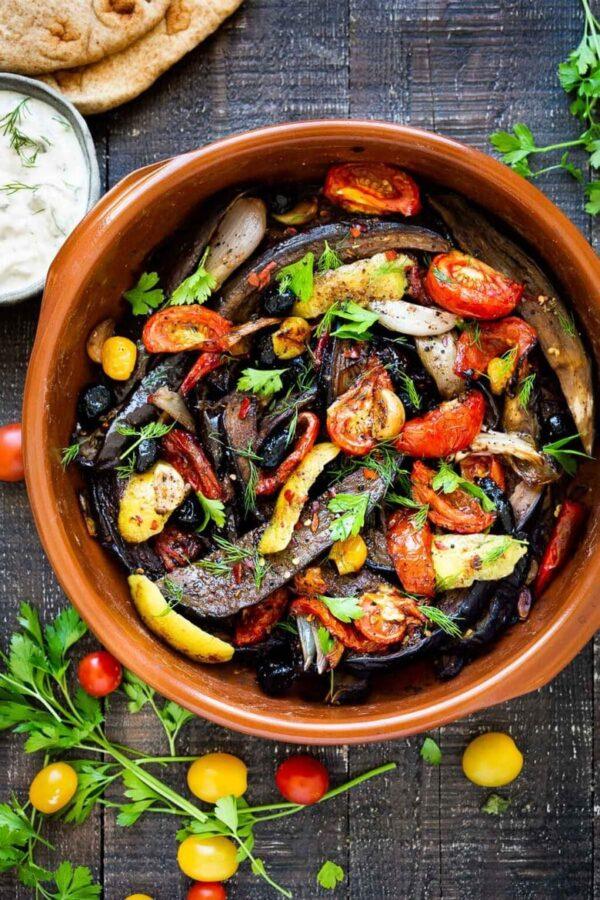 35 BEST Eggplant Recipes - Moroccan eggplant.