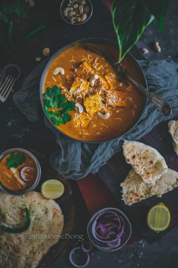 BEST Paneer Recipes - lababdar dhaba.