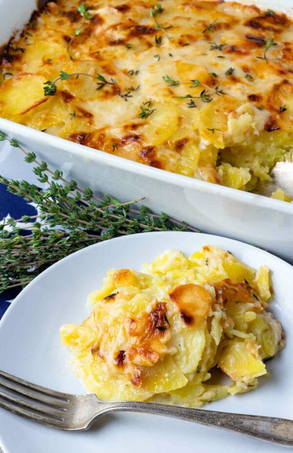 The 45 BEST Potato Recipes - scalloped potatoes.