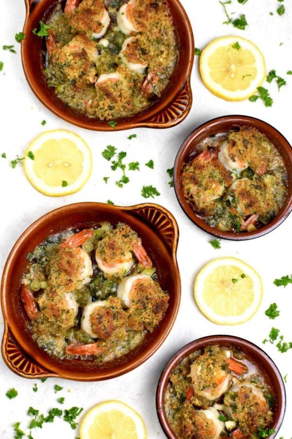 The 40 BEST Easy Dinner Recipes - shrimp de jonghe.