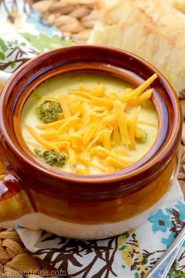 The 35 BEST Crockpot Soup Recipes - Broccoli cheddar.