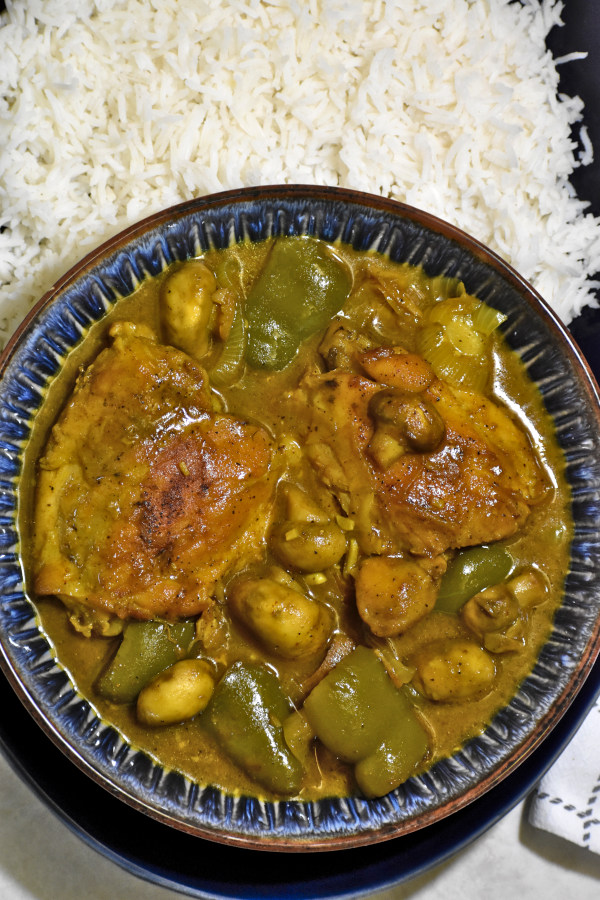 The 40 BEST Curry Recipes - South African Chicken Curry.