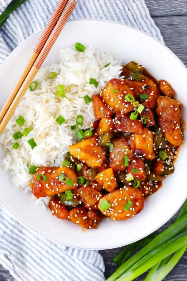 The 5 BEST Asian Recipes - sweet and sour chicken.