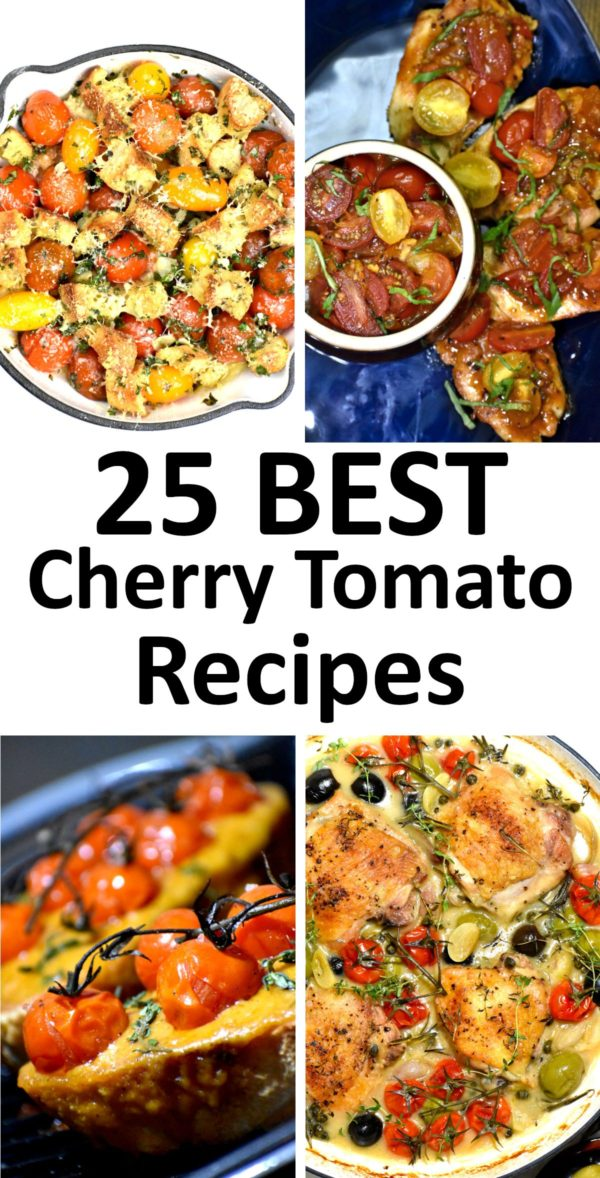 The 25 BEST Cherry Tomato Recipes