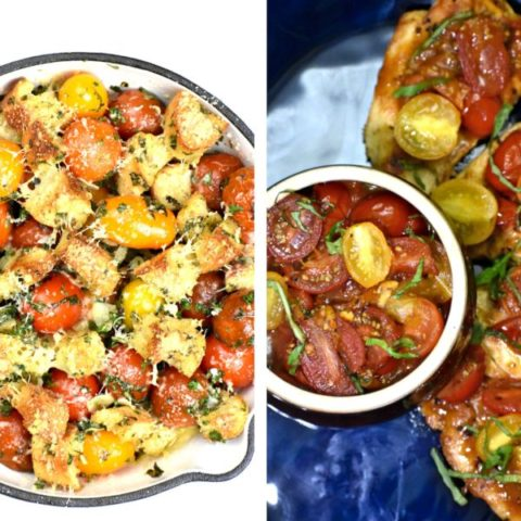 Featured inamge for cherry tomato roundup post.