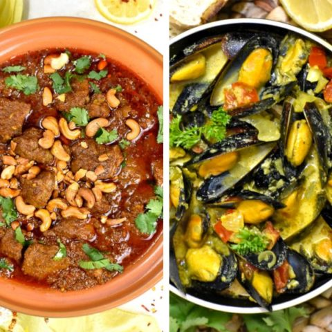 Featured image for curry recipe roundup.