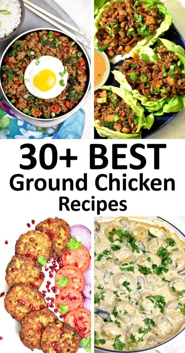 The 30+ BEST Ground Chicken Recipes