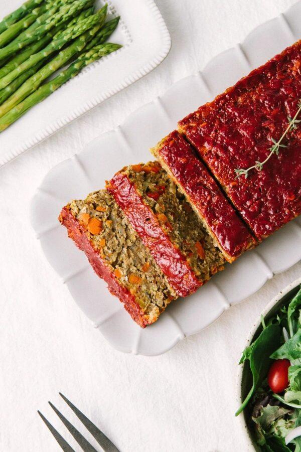 35 BEST Lentil Recipes - lentil loaf.